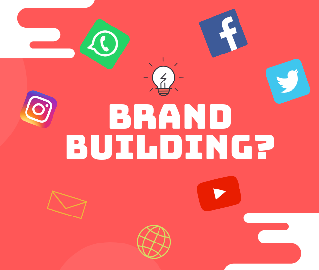 Why is building a brand important for digital marketing?